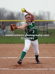 7I1R8295 (warren.robison) Tags: girls sports girl sport ball out photography action central first indiana christian highschool varsity softball bethesda pitcher triton basemen filder fairland ihsaa