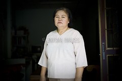 Zipporah Sein of the Karen National Union (KNU) (ENIGMA IMAGES) Tags: thailand karen maesot knu generalsecretary knla karennationalunion kawthoolei zipporahsein