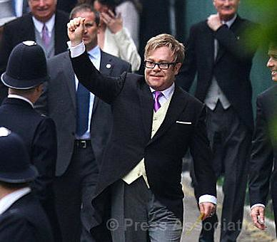 Sir Elton John by The British Monarchy