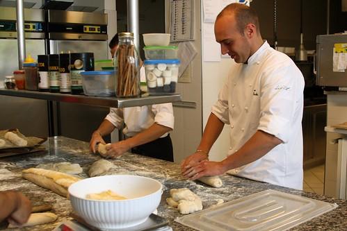 Breadmaking at Relais San Maurizio