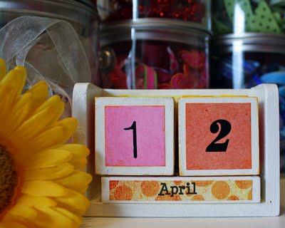 Calendar Date Blocks