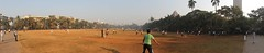 Cricket on the Oval Maidan, Mumbai