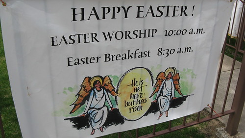 Easter Sunday morning. Elmwood Park Illinois USA. April 24th, 2011. by Eddie from Chicago