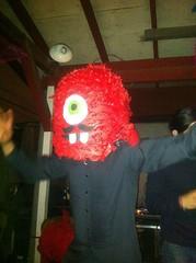 IMG_1181 (jaqui rivera) Tags: cyclops birthdayparty redhead oneeye oneeyedmonster piatahead