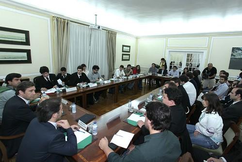 Pedro Passos Coelho com dirigentes das Associações Académicas do Ensino
