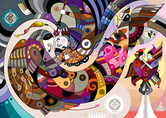 Continuum Ita (chamarelli) Tags: brazil art love illustration amor illustrator vector itau continuum ilustra