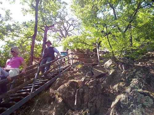 Wanderweg entlang der Rastenbachklamm in Kaltern