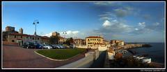 Fantastica la mia citt (sandrodemo66) Tags: verde italia nuvole mare barche case toscana panchine piombino piazzabovio