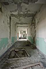 walk with me (enjoythelittlethings) Tags: school abandoned mt hallway rurex