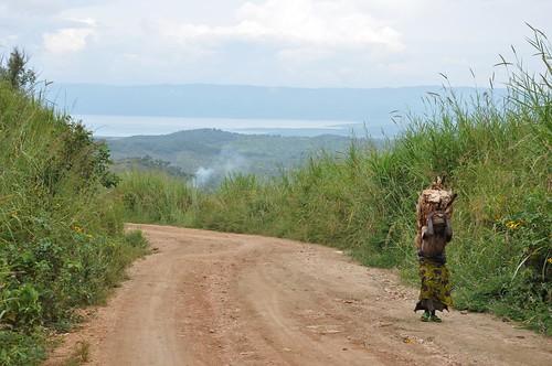 First view of Lake Tanganyika