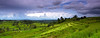 Panorama of rice terrace in Jatiluwih (tropicaLiving - Jessy Eykendorp) Tags: blue light sky bali green nature clouds canon indonesia landscape island photography eos daylight asia southeastasia rice terrace outdoor farm mount lee land filters ricefield volcanic 1022mm slope sawah canon1022mm gnd batukaru jatiluwih tabanan 50d
