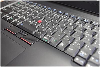 ThinkPad L512のキーボードまわり
