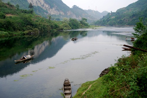 Miao river country, near Kaili by joe with a camera