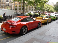 RUF RT12S (x2) and Porsche GT2 (alexsmolik) Tags: auto california red usa trafficlights paris color green cars beautiful car yellow lights hotel rainbow automobile colorful traffic s super voiture frog coche porsche million plates trio carbon fiber expensive rims incredible luxury supercar luxe gt2 carbonfiber based exotics supercars combo ruf porsche911 exoticcars luxurious blackrims georgev carbone porschegt2 redyellowgreen rt12 avenuegeorgev californiacars greenporsche ctr3 verdeithaca rufctr3 supercombo 996gt2 rufautomobile rufrt12s alexsmolik porschebased porschetrio