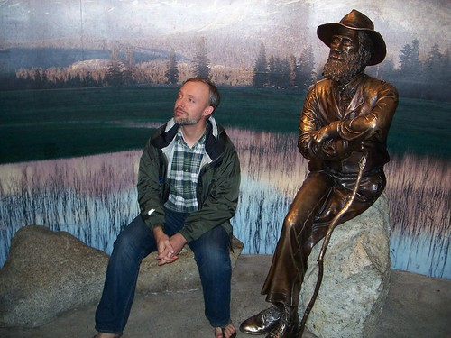 Justin with John Muir