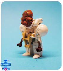 (The Slushey One) Tags: white its star see george call lego hard tan slush lucas suit wars admiral slushy trap ackbar mecha slushee hardsuit