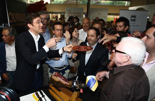 Pedro Passos Coelho visita a Ovibeja