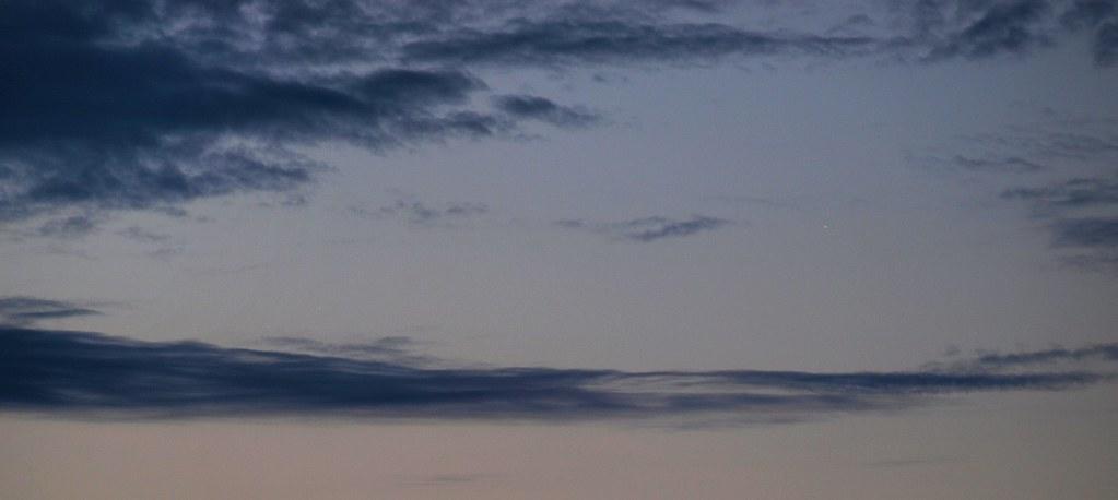 Venus und Jupiter am Morgenhimmel, 8.Mai 2011, 5:23 MESZ