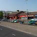Twin Spires Centre - The Laurel Leaf Pub (left of photo)