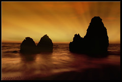 Rodeo Beach Sunset (edpuskas) Tags: ocean california longexposure sunset seascape water lowlight sausalito hdr rodeobeach canon5dmarkii