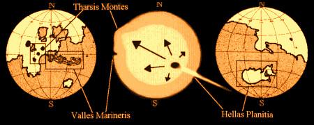 Dezastrul care a dus la disparitia vietii de pe Marte Un corp cu o viteza relativista a lovit planeta Marte in trecutul indepartat