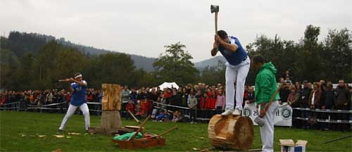 Ruta de los deportes rurales del pa s vasco clubrural - Casas pais vasco ...