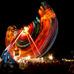Freak Out (Spectral Convergence) Tags: longexposure carnival motion night fun lights ride lighttrails amusementride totw sunmmer deutschenpfest