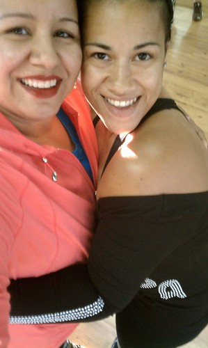 Zumba girl Vanesa and me