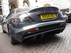 Edition (BenGPhotos) Tags: slr london car mercedes benz mclaren edition 3000 supercar diffuser v8 gumball 2011 worldcars rx54obz