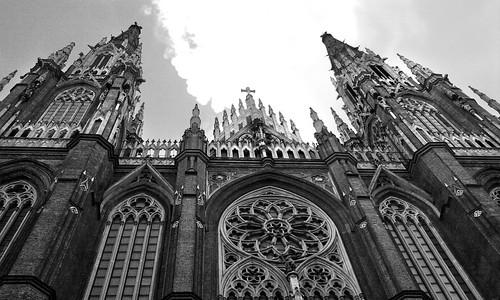 Catedral Blanco y negro by Mąirĉ Cousseau