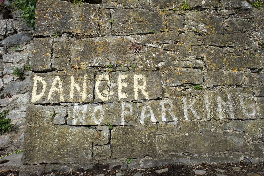 Limerick - Danger No Parking