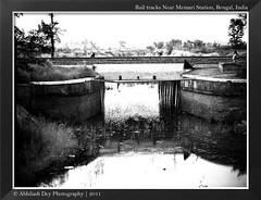Another Wayside Wayward Halt ( ) Tags: rural twilight westbengal railwaytracks memari bardhaman nikonl20 abhilashdey