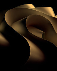 dream of a great desert (Reflectory Images) Tags: shadow abstract lamp monochrome waves shadows desert curves wave minimal ribbon abstraction minimalism curve lightfixture contours reflectory