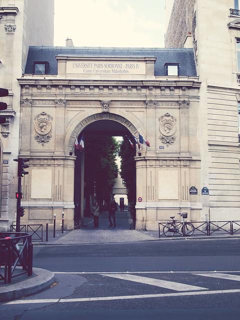 Centre Universitaire Malesherbes Université Paris IV Sorbonne