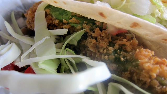 big tex cantina fried avocado taco