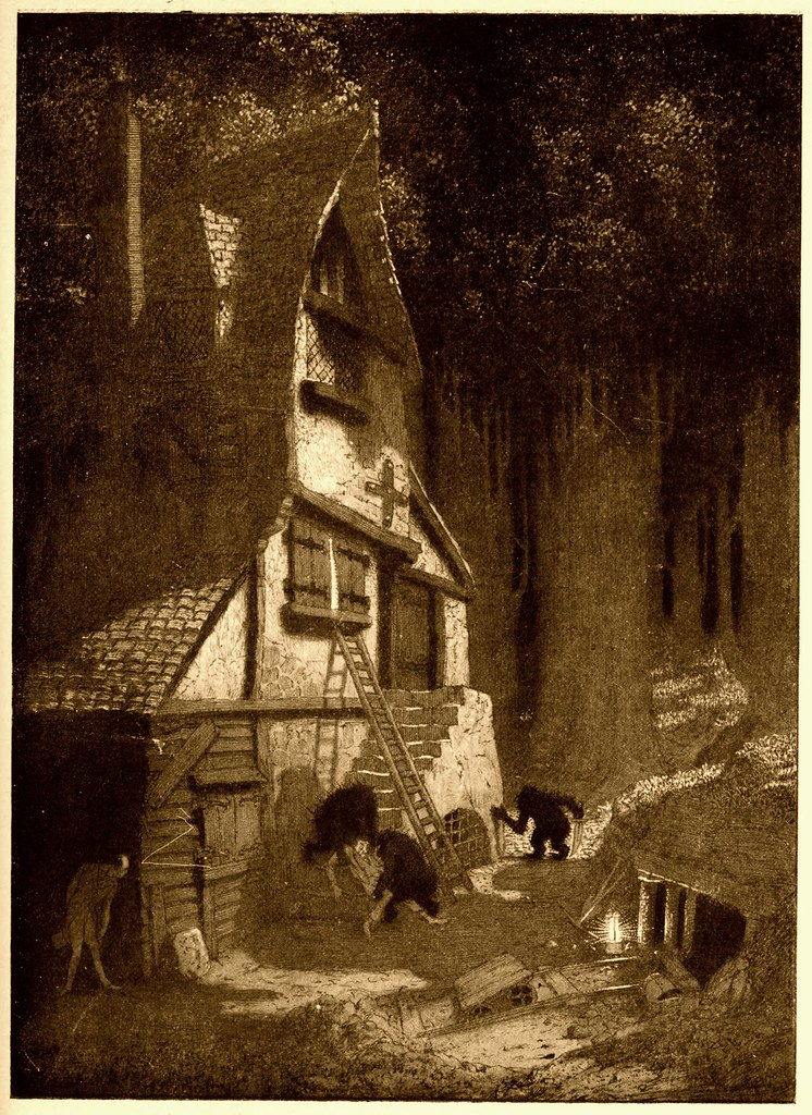 Sidney Sime - The Lean, High House Of The Gnoles (1912)
