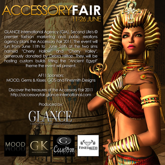 GIA announces Accessory Fair 2011: Ancient Egypt!