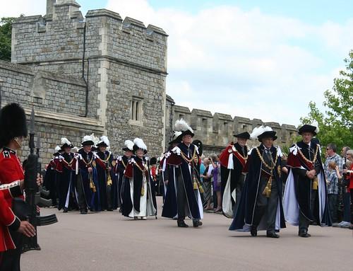 Members of the Order of the Garter
