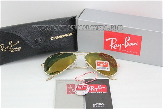 Aviator Gold Green Shinning FRAME