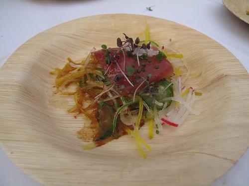 Spago's Ahi Radish Salad