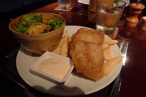 Kid's fish&chips@Bamboo Santai