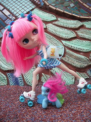 Blythe Physical Challenge #31 : Blythe in Action