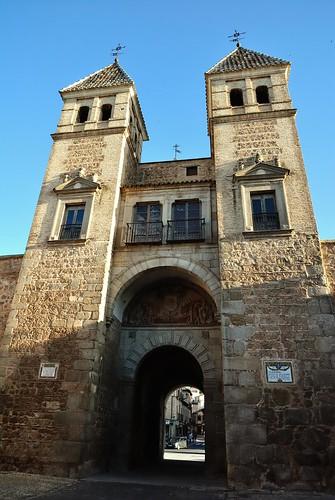 Puerta de Bisagra. Toledo.