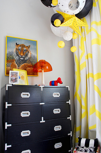Nusery of design-crisis - 2, Nursery Room Home Ideas in Black and Yellow