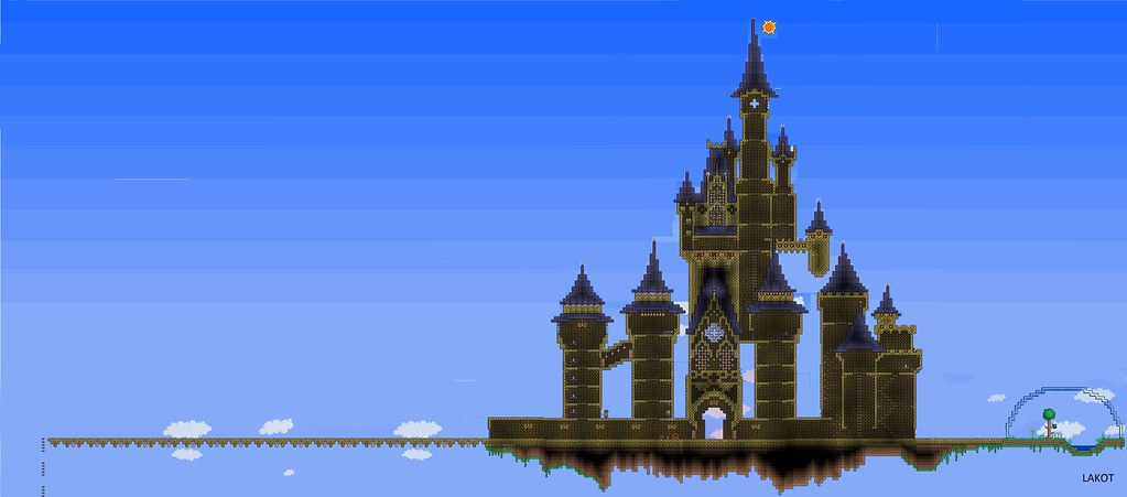Fortresses Living Quarters besides Arceus furthermore 793 additionally Minecraft Ideas likewise Templates. on tree terraria schematics