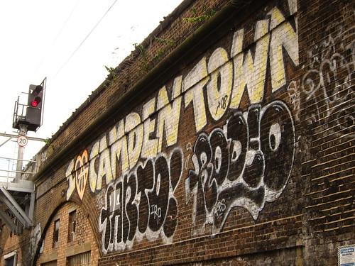 Camden Town Graffiti by Danalynn C