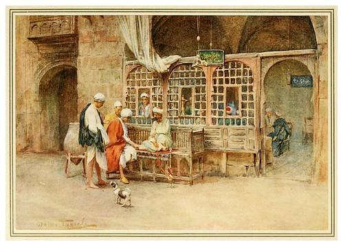 006- Un cafe en el Cairo-An artist in Egypt (1912)-Walter Tyndale