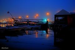 Warm evening (almost SOOC) (heshaaam) Tags: bridge colors bahrain warm hamad sheikh manama muharraq sooc