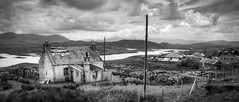 Outer Hebrides (Ray Devlin) Tags: outer hebrides scotland scottish landscapes rugged remote nikon d300 black white cottage