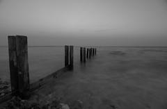 (A.Keskin) Tags: longexposure sea bw monochrome silky water